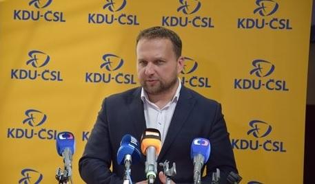 Předseda Lidovců Marian Jurečka; Foto: kdu.cz