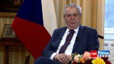 VIDEO: Zeman chce další důkazy o údajném zapojení GRU ve Vrběticích