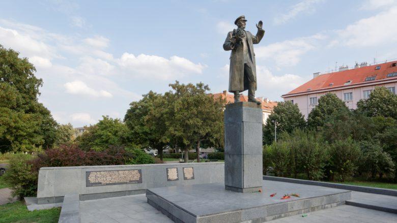 Pomník maršála Koněva v roce 2018; Foto: Gampe / Wikimedia Commons