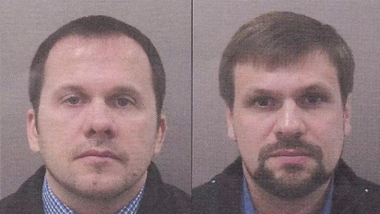 Údajní ruští agenti Anatolij Čepiga a Alexandr Miškin; Foto: Policie ČR