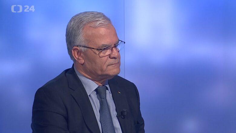 Palestinský velvyslanec v ČR Chálid al-Atraš; Foto: repro Česká televize