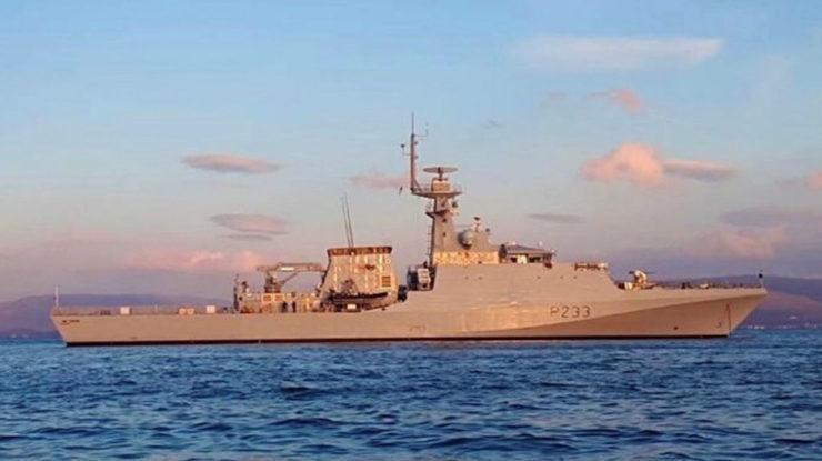 Britská válečná loď HMS Tamar; Foto: Královské námořnictvo / Wikimedia Commons