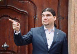 Pirátský poslanec Ondřej Profant; Foto: Profil O. Profanta na sociální síti