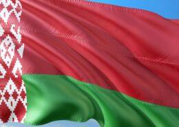 Oficiální běloruská státní vlajka; Foto: Pixabay.com