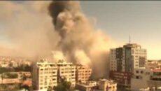 REPORTÉŘI BEZ HRANIC požadují vyšetření náletu na budovu médií v Gaze