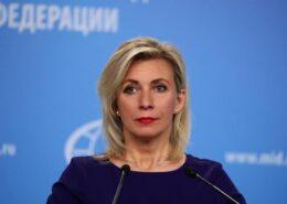 Tisková mluvčí ruského ministerstva zahraničí Maria Zacharovová; Foto: Profil ruské ambasády v ČR na sociální síti