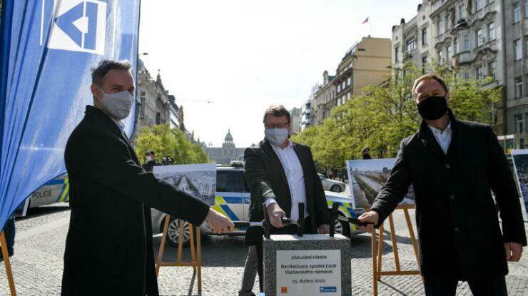 Zahájení rekonstrukce v dubnu 2020; Foto: praha.eu