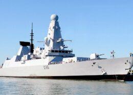 Britský torpédoborec HMS Defender; Foto: Královské námořnictvo / Wikimedia Commons