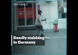 VIDEO: Imigrant ze Somálska ubodal v Německu 3 lidi, nejméně dalších 6 zranil