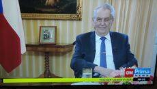 VIDEO: Projev prezidenta republiky k živelné pohromě na jižní Moravě