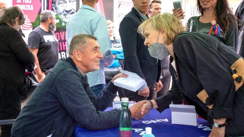 Předseda hnutí ANO Andrej Babiš během předvolební kampaně; Foto: profil A. Babiše na sociální síti