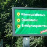 HROZÍ EKOTEROR A ZNIČENÍ BLAHOBYTU, hlásá protizelená kampaň v Německu
