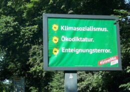 Plakát iniciativy Grüner Mist; Foto: Twitter Grüner Mist