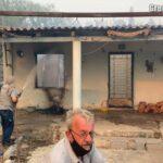 VIDEO: Zoufalí obyvatelé řeckého ostrova Euboia utíkají ze svých domovů