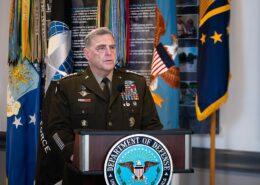 Armádní generál Mark A. Milley, předseda sboru náčelníků štábů; Foto: Wikimedia Commons