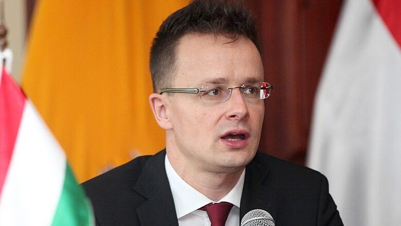 Maďarský ministr zahraničí Péter Szijjártó; Foto: Wikimedia Commons