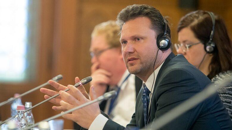 Předseda Poslanecké sněmovny Radek Vondráček (ANO); Foto: Sejm RP / Wikimedia Commons