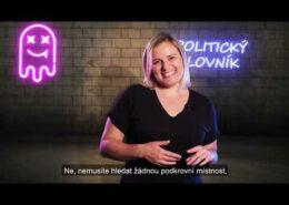 VIDEO: Koalice SPOLU prezentuje v předvolebních spotech hloupou blondýnu