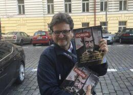 Novinář Pavel Šafr; Foto: Profil P. Šafra na sociální síti