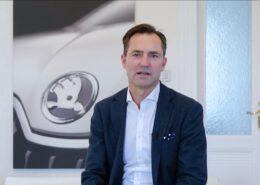 Šéf Škody Auto Thomas Schäfer; Foto: Repro YouTube